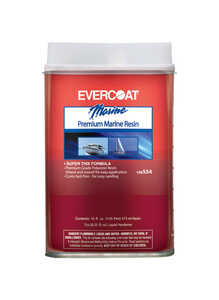 Evercoat  Boat Yard Fiberglass Resin  1 pt.