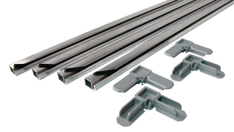 Prime-Line  Aluminum  3/4 in. W x 3/4 in. L Screen Frame Kit  1 pk