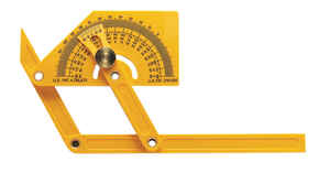 General Tools  8-5/8 in. L x 3-3/4 in. W Protractor