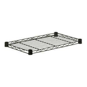 Honey Can Do  36 in. W x 1 in. H x 14 in. D Shelf Rack  350 lbs.  Steel