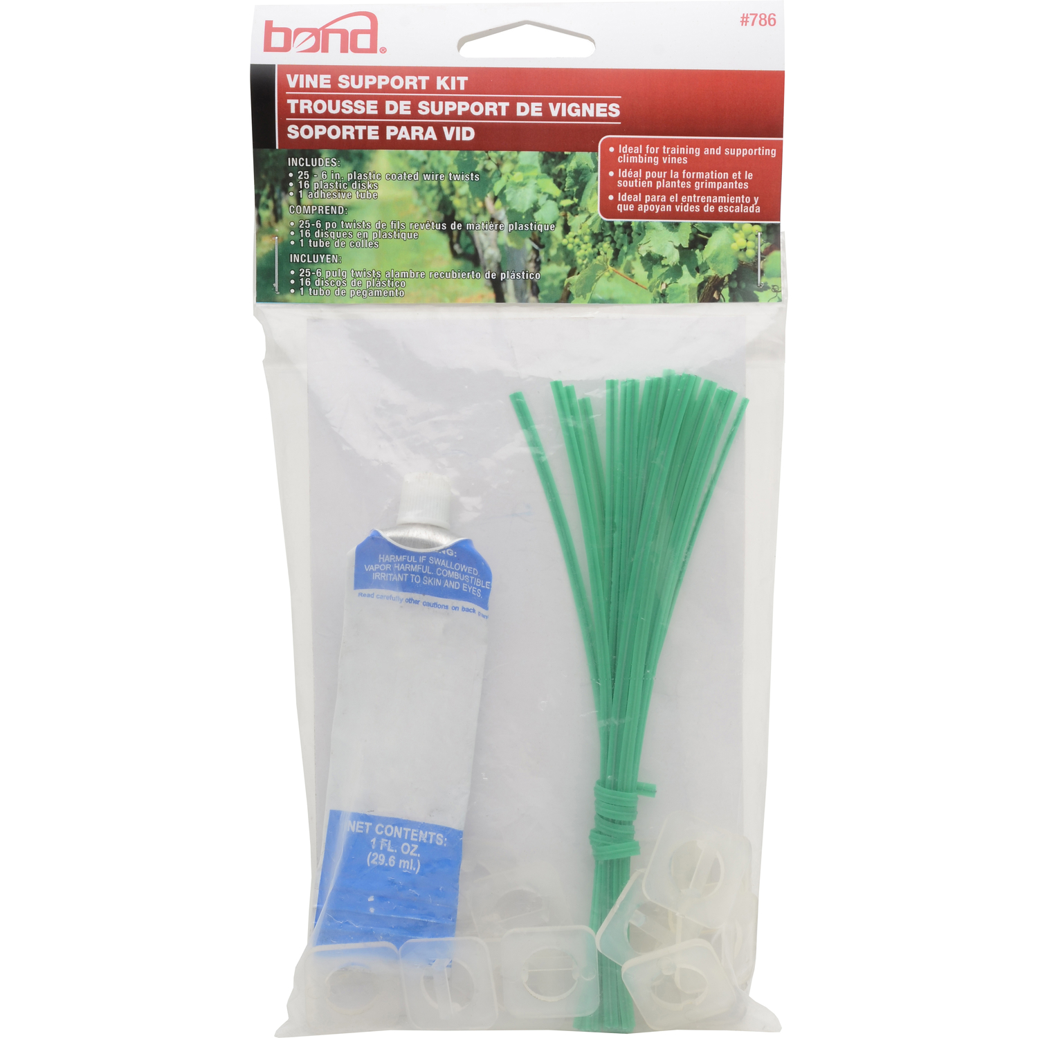 Bond Manufacturing  9.44 in. H Assorted  Other  Plant Support