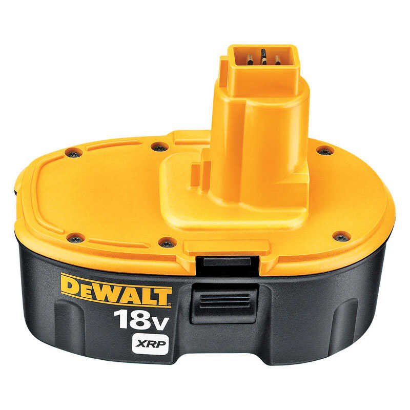 DeWalt  XRP  18 volt Ni-Cad  Battery Pack  1 pc.