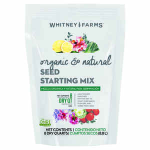 Whitney Farms  Organic & Natural  Organic Seed Starting Mix  8 qt.