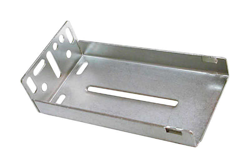 Knape & Vogt  3-1/2 in. L Zinc  Full Extension  Drawer Bracket  1 pair
