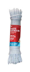 Ace  50 ft. L White  Plastic  Clothesline  White