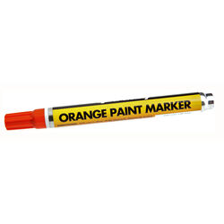 Forney Orange Valve Tip Paint Marker 1 pk