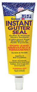 Geocel  Alum Gray  Tripolymer  Gray  Gutter and Flashing Sealant  5 oz.