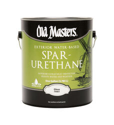 Old Masters  Gloss  Clear  Water-Based  Spar Urethane  1 gal.