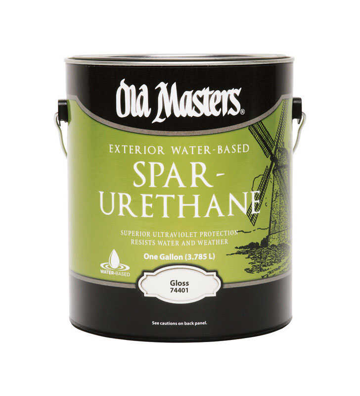 Old Masters  Clear  Water-Based  Spar Urethane  1 sq. ft. Gloss