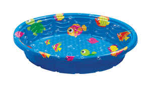 Summer Escapes  Round  Plastic  Wading Pool  11.4 in. H x 59 in. Dia.
