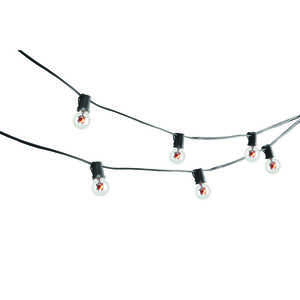 Sylvania  Spider Lights  Lighted 5 in. H x 8-1/2 ft. L Halloween Decoration  1 pk