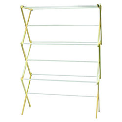 Madison Mill 42.5 in. H x 29.5 in. W x 14 in. D Wood Accordian Collapsible Clothes Drying Rack