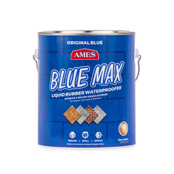 Ames  Blue Max Liquid Rubber  Matte  Translucent Blue  Water-Based  Waterproof Sealer  1 gal.
