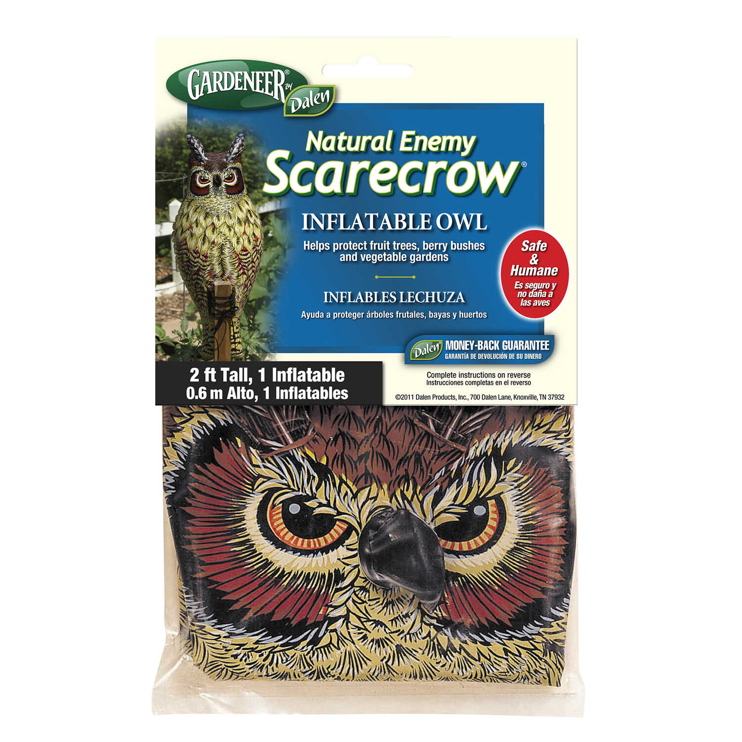 Dalen  Scarecrow  Bird Deterrent Decoy  For Assorted Species 1 pk