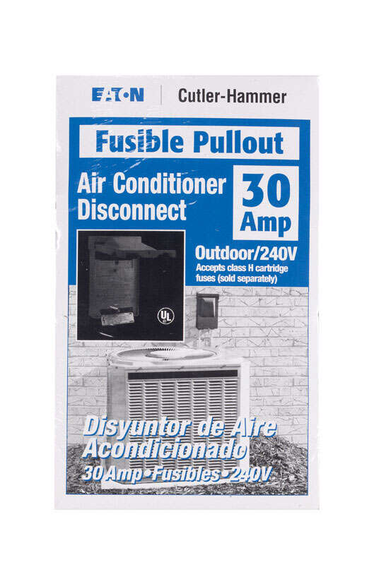 Eaton  Cutler-Hammer  30 amps Fusible  AC Disconnect