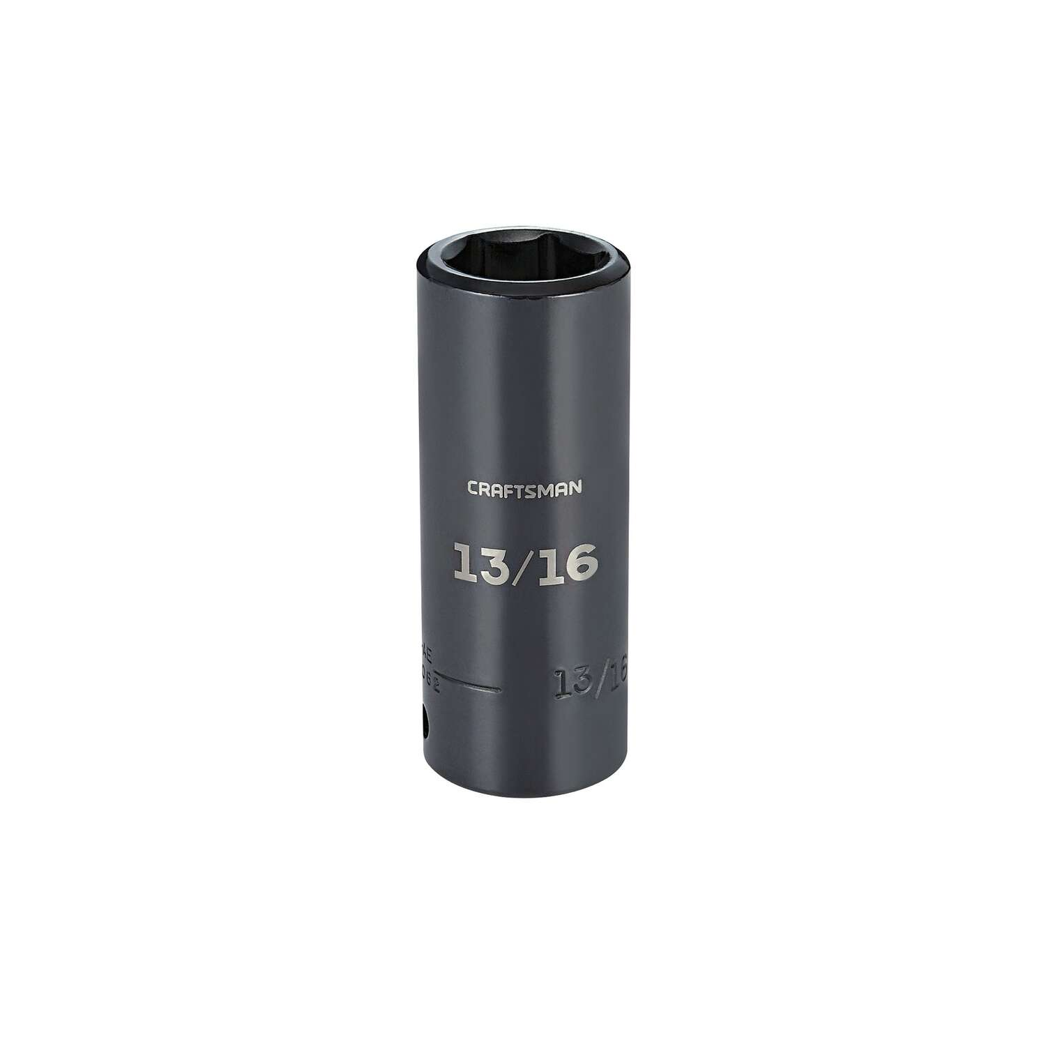 Craftsman 13/16 in. x 1/2 in. drive SAE 6 Point Deep Impact Socket 1 pc.
