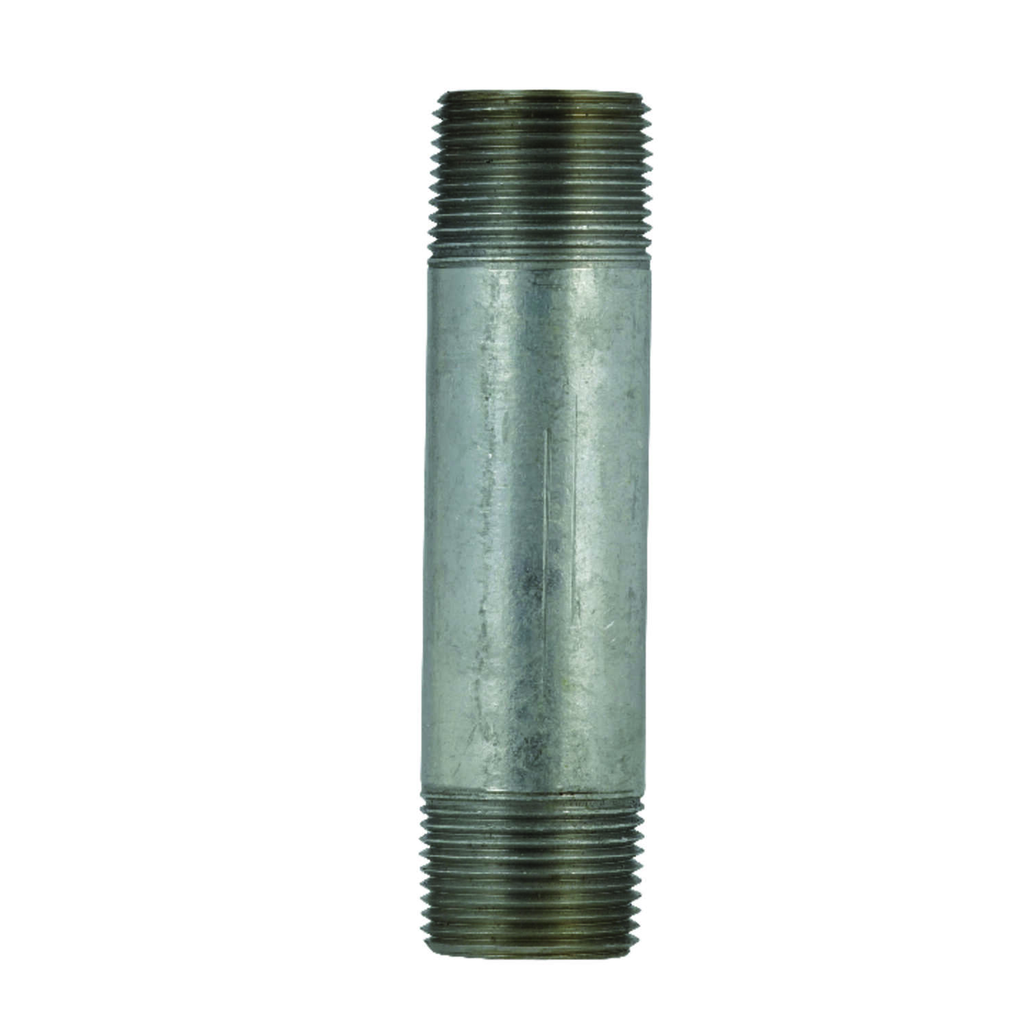 BK Products Southland 4 in. MPT x 4 in. Dia. x 6 in. L MPT Galvanized Steel Nipple