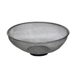 GRIP  10.5 in. Stainless Steel  Magnetic Mesh Bowl  Silver  1 pc.