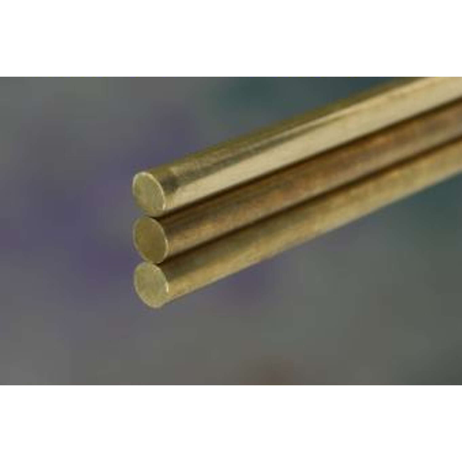 K&S  3/16 in. Dia. x 12 in. L Brass Rod  1 pk