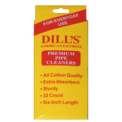 Dill's  Smoking  Pipe Cleaners  Cotton  1 pk