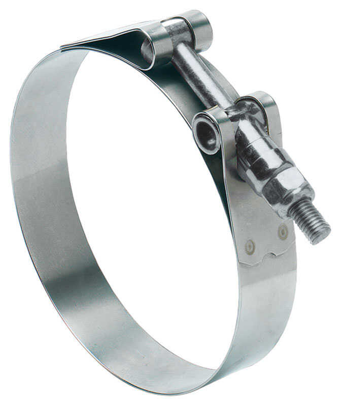 Ideal  Tridon  3-1/4 in. 3-9/16 in. Stainless Steel Band  Hose Clamp