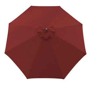 Sunline  9 ft. Red  Market Umbrella