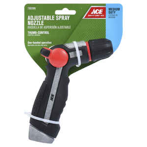 Ace  Shower and Stream  Metal  Hose Nozzle