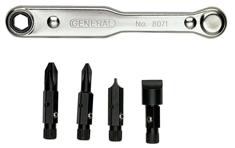 General Tools  5 pc. Offset Screwdriver Set
