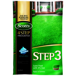 Scotts  Step 3  32-0-4  Lawn Food with 2% Iron  For All Grass Types 13.16 lb. 5000 sq. ft.