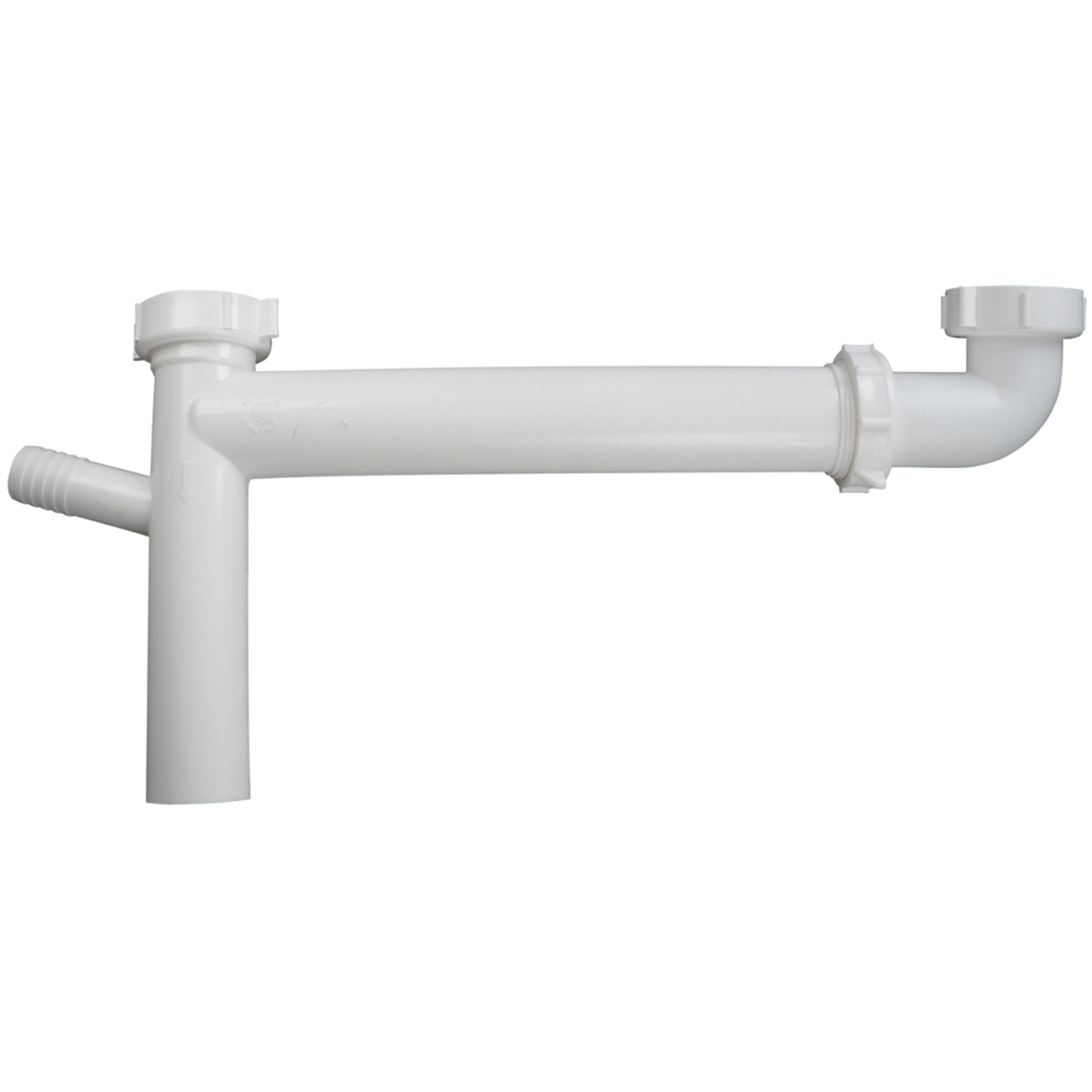 Keeney  1-1/2 in. Slip   x 1-1/2 in. Dia. Slip  Plastic  Waste Arm