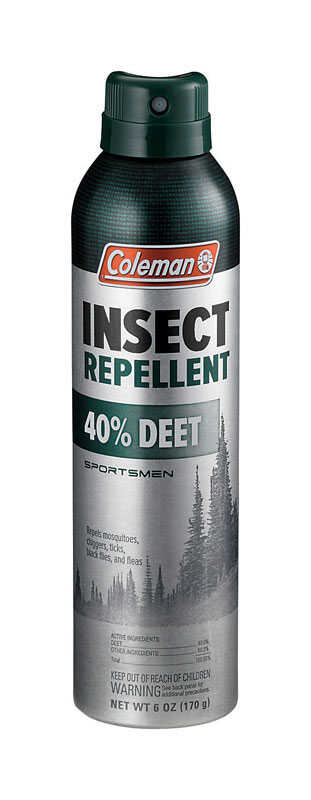 Coleman  Insect Repellent  Liquid  For Mosquitoes/Ticks 6 oz.
