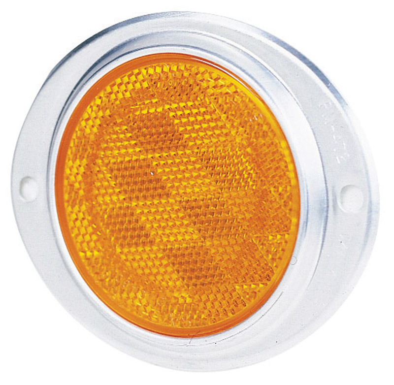 Peterson Reflector Aluminum Housing 3 in. Amber
