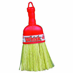 Ace  4 in. W Stiff  Plastic Bristle  Broom