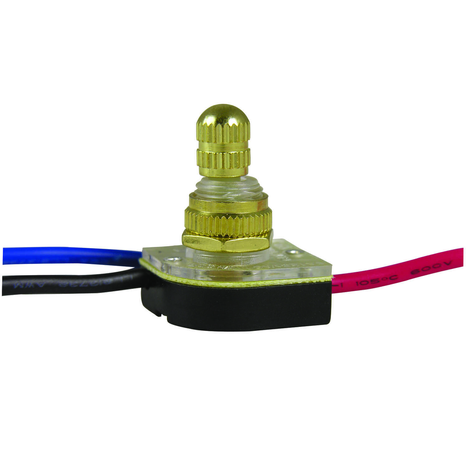 Gardner Bender  Rotary  Switch  Brass  1 pk