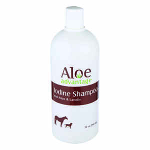 Aloe Advantage  Liquid  Iodine Shampoo  For Horse 32 oz.