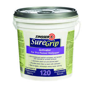 Zinsser  SureGrip 120  High Strength  Glue  Activated Glue  1 gal.