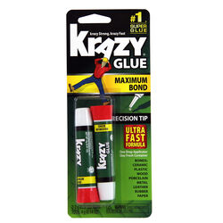 Krazy Glue  High Strength  Polyvinyl acetate homopolymer  Advanced Formula Gel  14 oz.