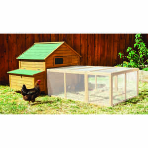 Aspen Pet  6-8 Hens  Wood  Chicken Coop Fort