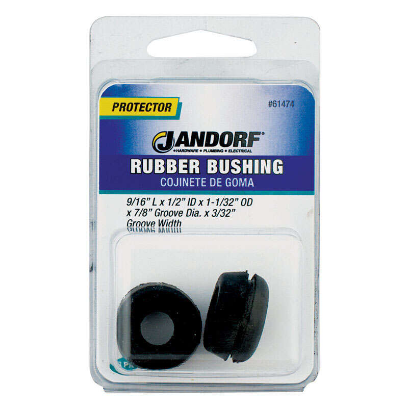 Jandorf  Rubber  Bushing  2  7/8 in.