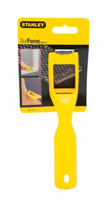 Stanley  7.3 in. L x 1.6 in. W Surface Form Shaver  Cast Iron  Yellow