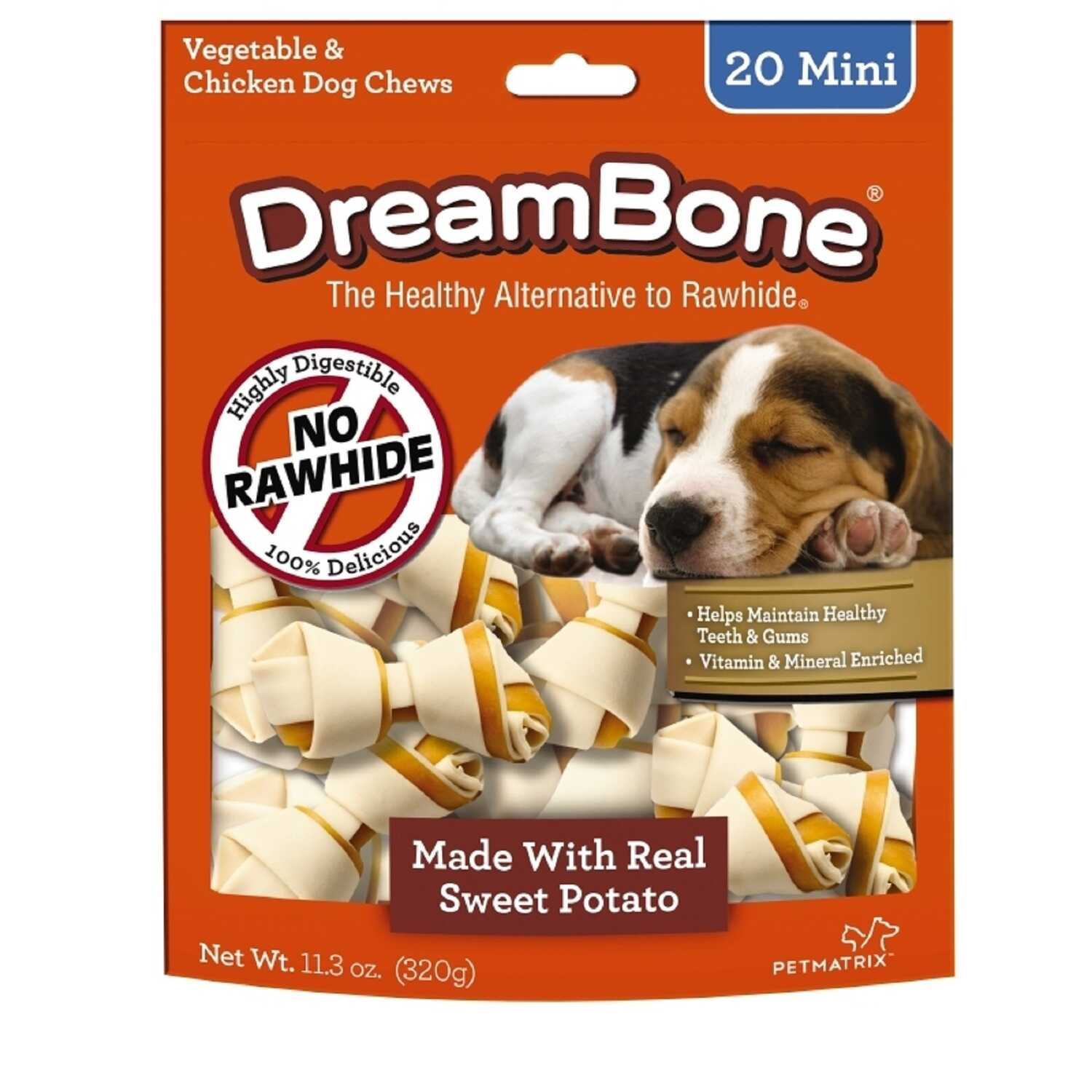 DreamBone  Chicken/Sweet Potato  Dog  Chews  24 pk 11.3 oz. 14