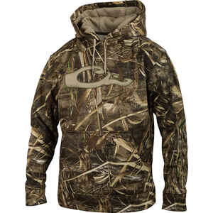 Drake  MST  L  Long Sleeve  Men's  Realtree Max-5  Hooded Sweatshirt