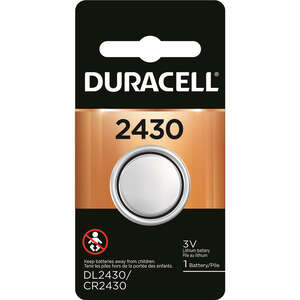 Duracell  2430  Medical Battery  1 pk Lithium