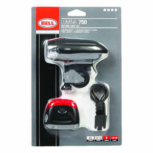 Bell Sports  Lumina  Composite  LED Bike Light  Black