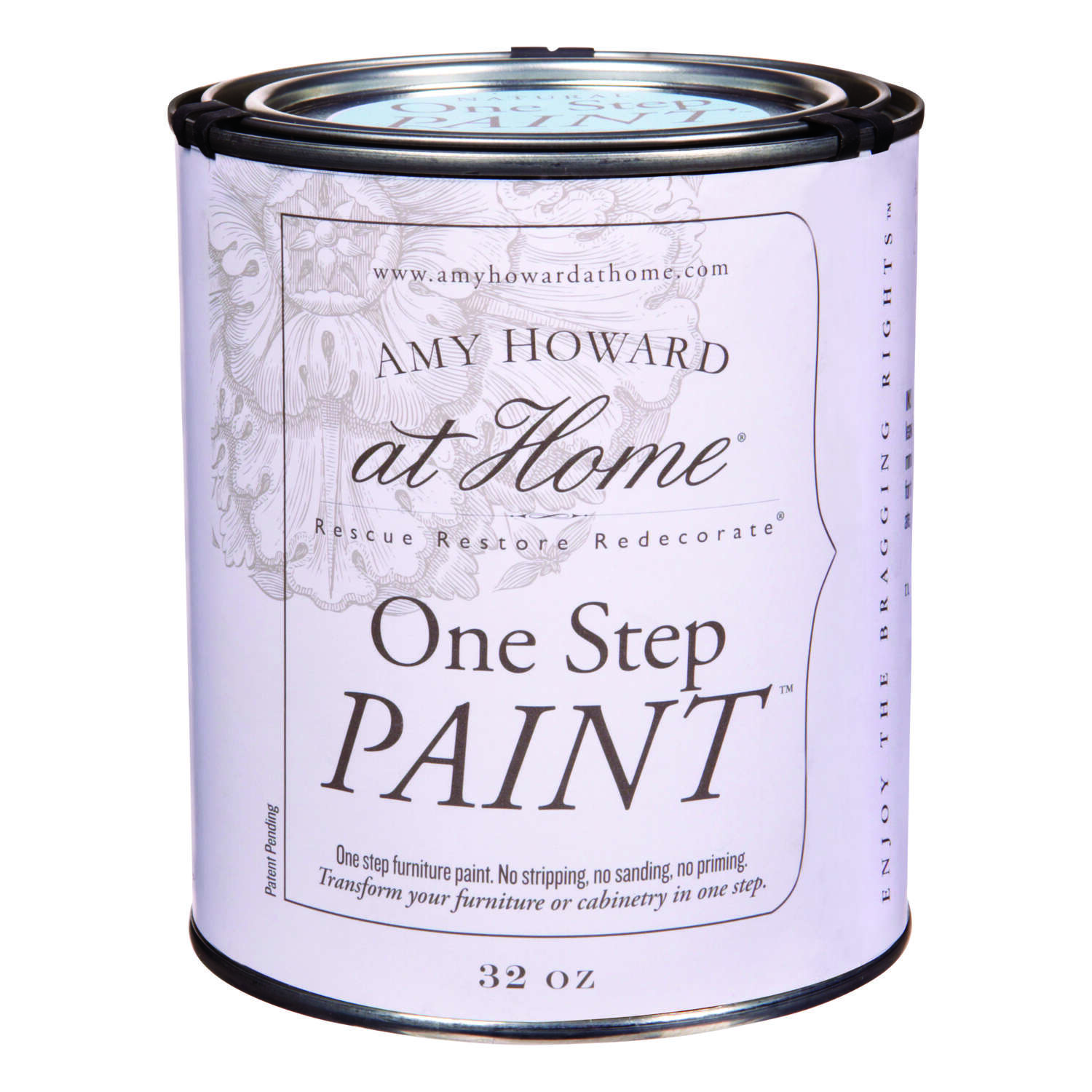 Amy Howard at Home  Flat Chalky Finish  Tick Tock  One Step Paint  32 oz.