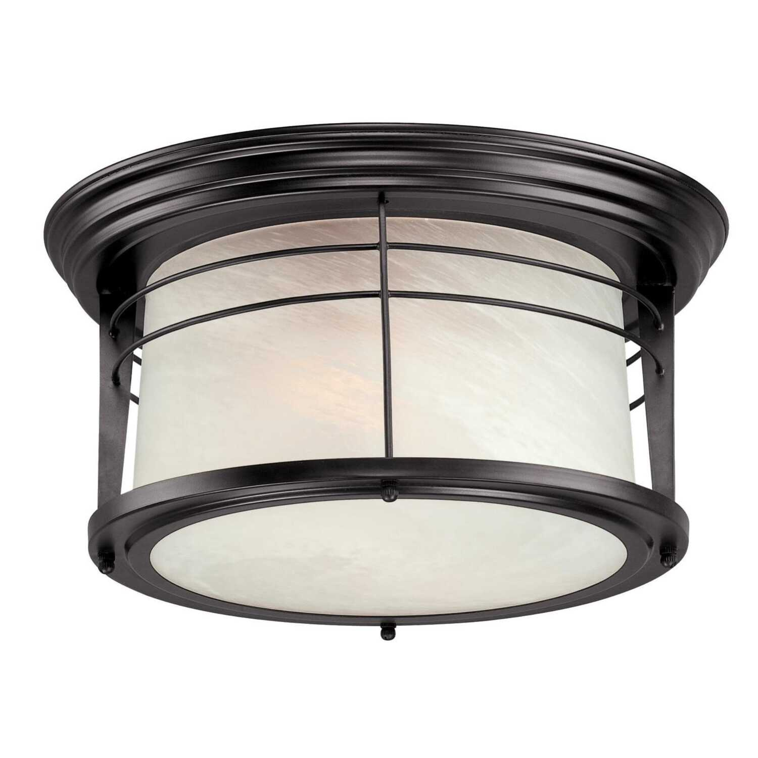 Westinghouse  Senecaville  13-1/4 in. W x 13.25 in. L x 7-1/2 in. H Ceiling Light