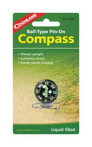 Coghlan's  Analog  Pin-On Compass