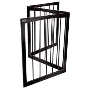 Animal Planet  63 in. W Pet Gate  Wood