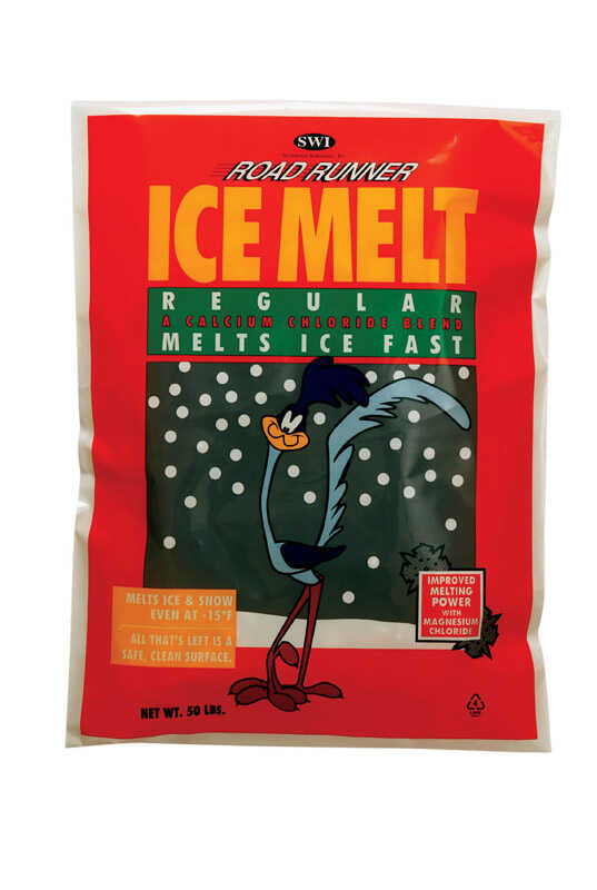 Scotwood  Road Runner  Calcium and Magnesium Chloride  Pet Friendly Ice Melt  50 lb.