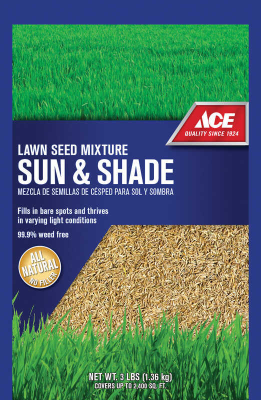 Ace  Transition Zone  Mixture  Grass Seed  3 lb.